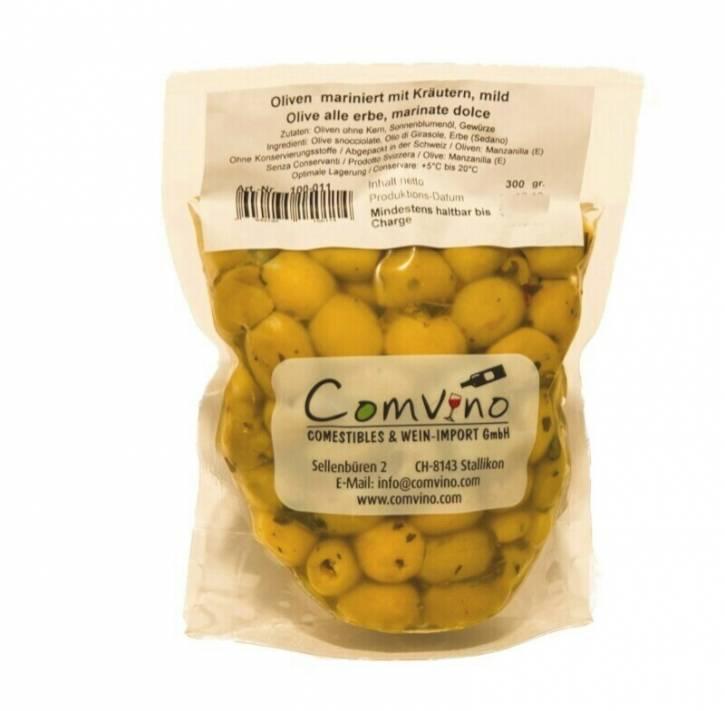 Oliven ohne Kern, mild 300g