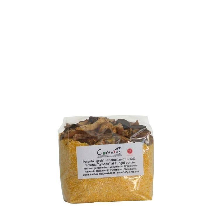 Polenta mit Steinpilzen 300 g (Hausmischung/Saisonal)