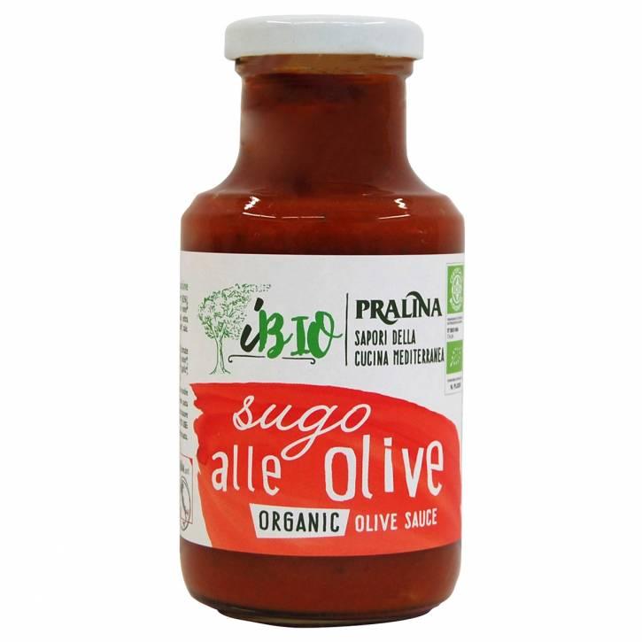 BIO Sugo mit Oliven / alle Olive 250g