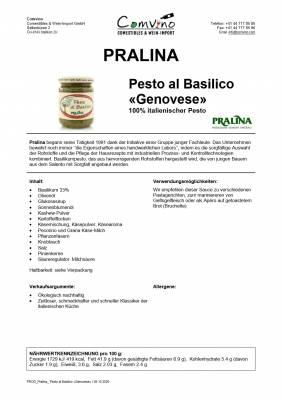 Pesto al Basilico Genovese / Basilikum-Pesto Genovese 190 g