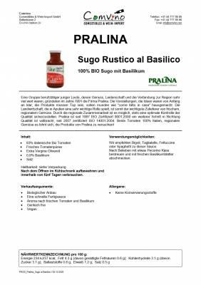 BIO Sugo Basilikum / al Basilico 250 g